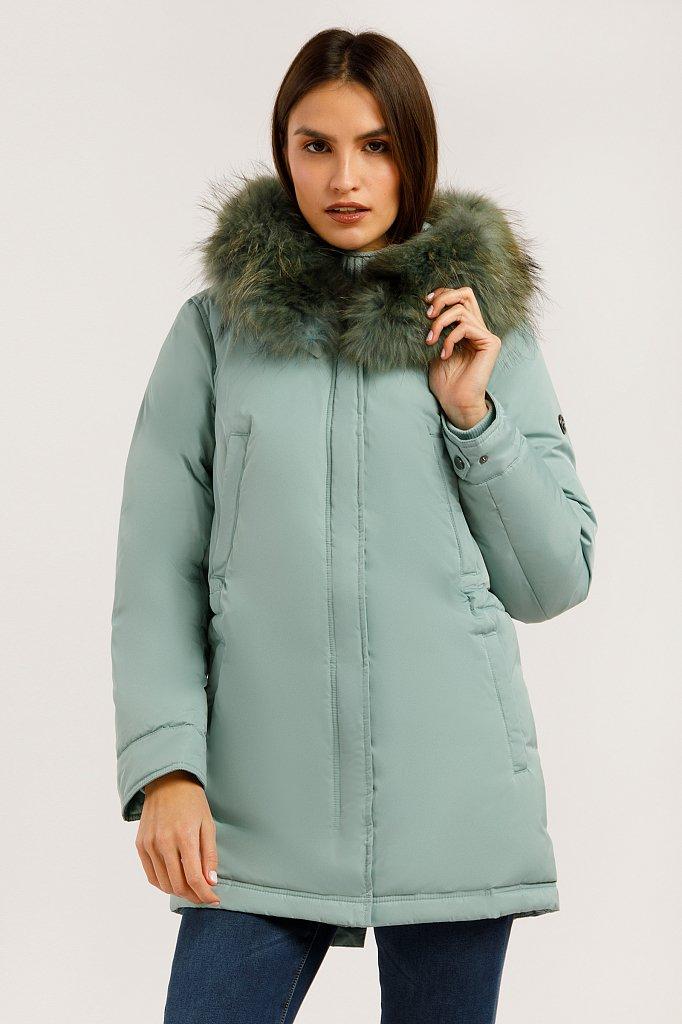 Полупальто женское, Модель W19-32012, Фото №3