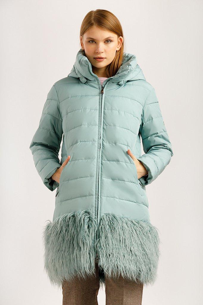 Пальто женское, Модель W19-32021, Фото №1