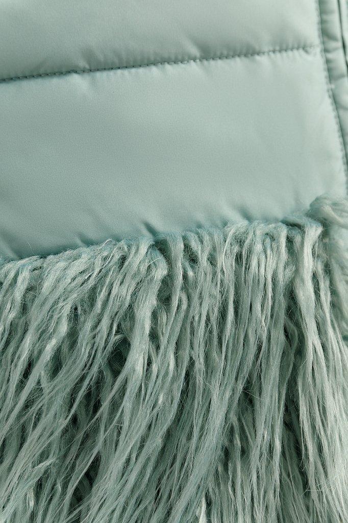 Пальто женское, Модель W19-32021, Фото №5