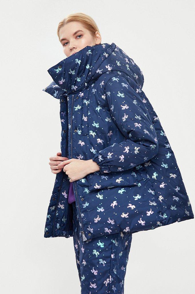 Куртка женская, Модель W20-11042, Фото №4