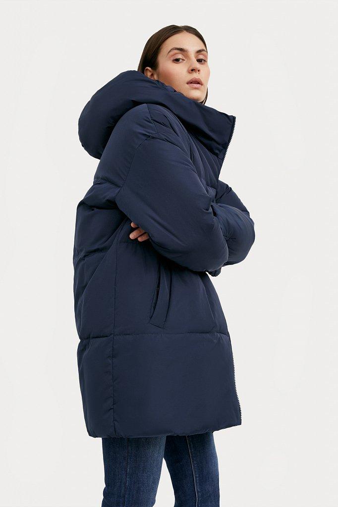 Полупальто женское, Модель W20-12005, Фото №1
