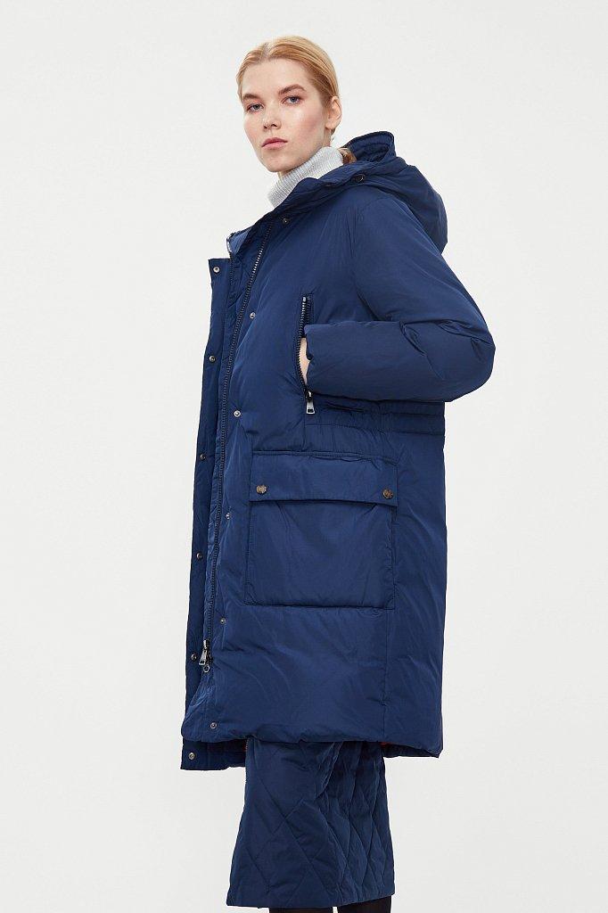Пальто женское, Модель W20-12013F, Фото №3