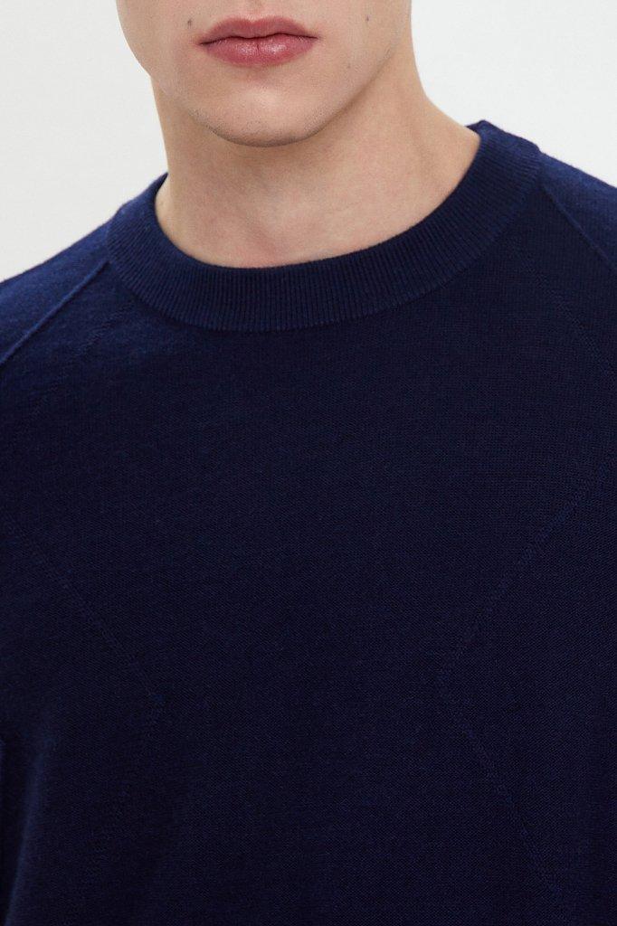 Джемпер мужской, Модель W20-21103, Фото №4