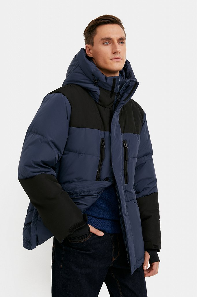 Куртка мужская, Модель W20-22026, Фото №1