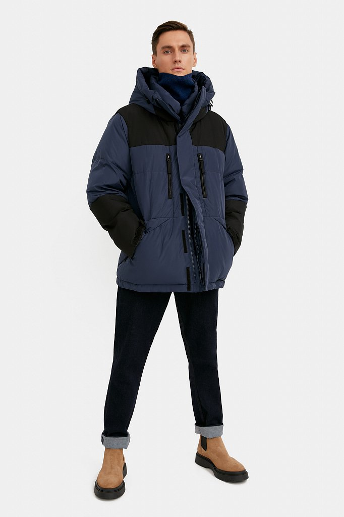 Куртка мужская, Модель W20-22026, Фото №3