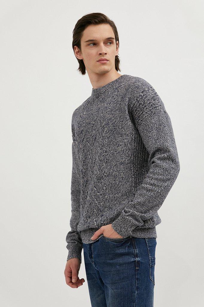 Джемпер мужской, Модель W20-22114, Фото №3
