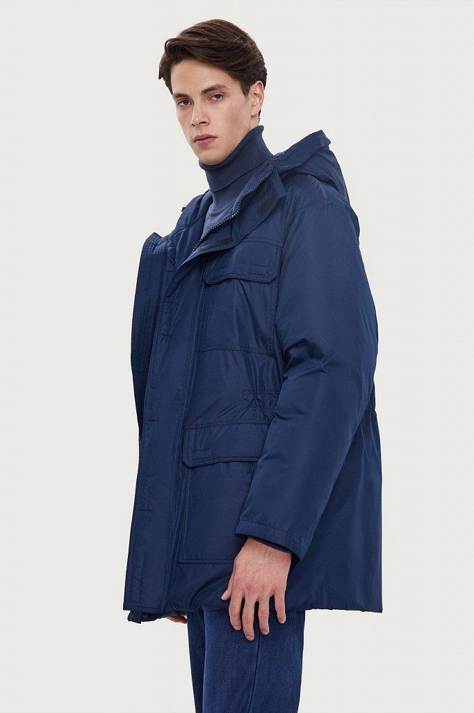 Полупальто мужское, Модель W20-61003F, Фото №3