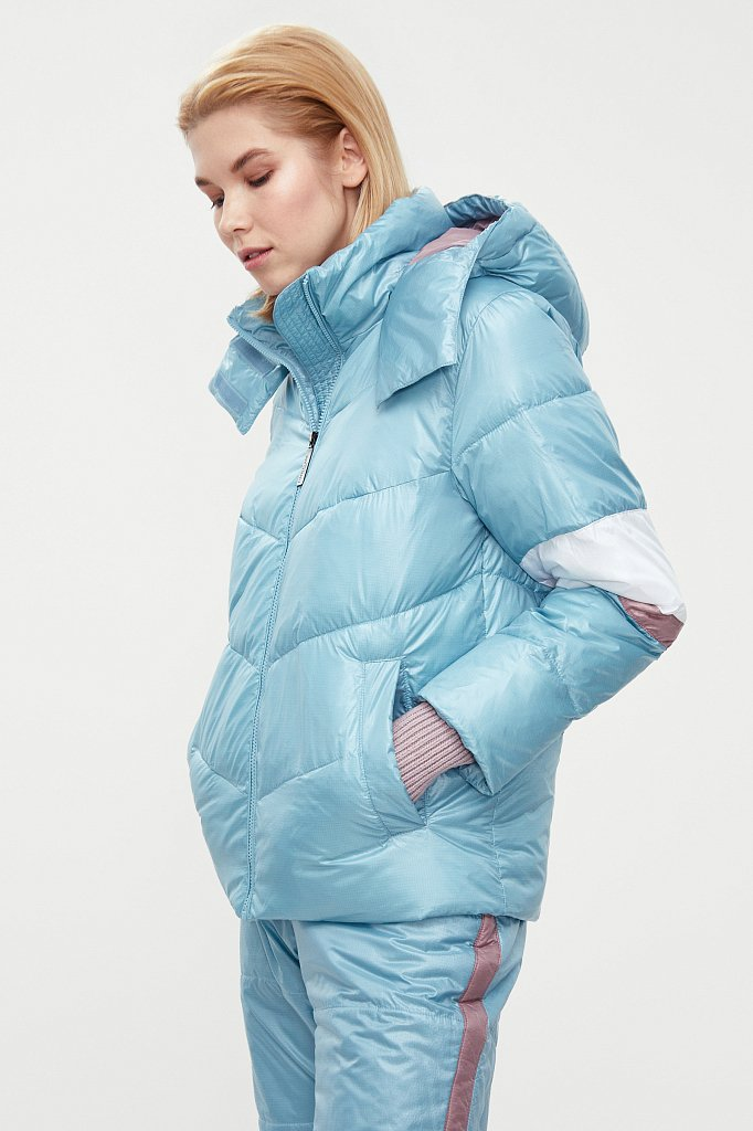 Куртка женская, Модель W20-12034, Фото №4