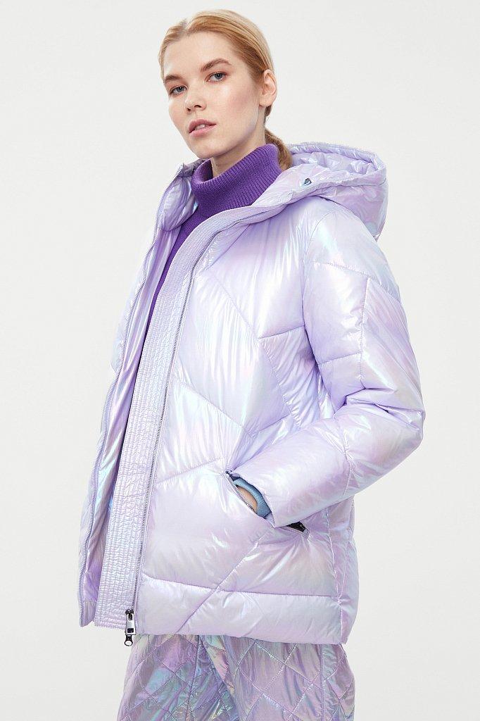 Куртка женская, Модель W20-32033, Фото №4