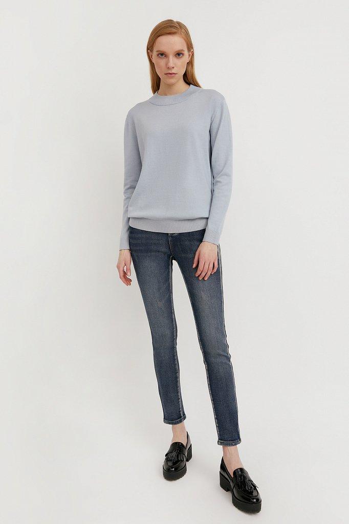 Брюки женские (джинсы), Модель W20-15003, Фото №1