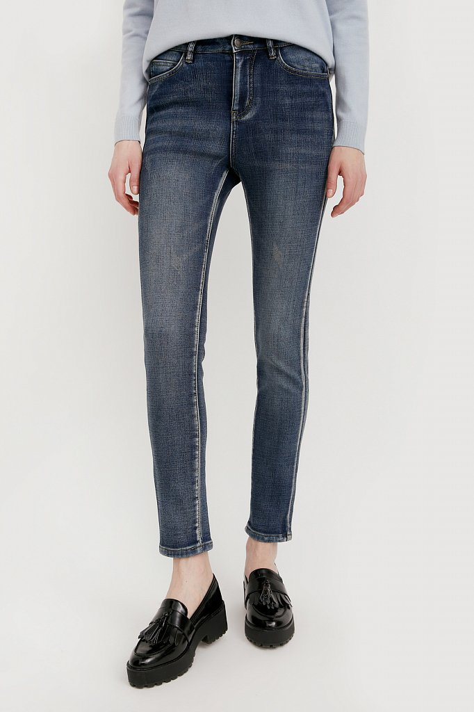 Брюки женские (джинсы), Модель W20-15003, Фото №2