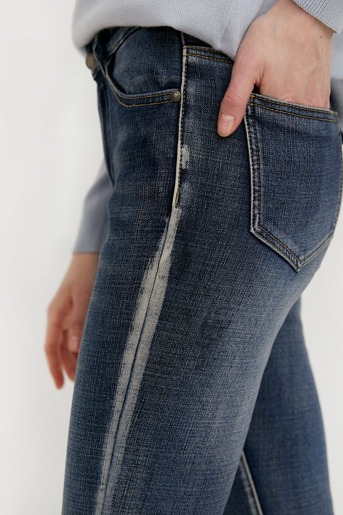 Брюки женские (джинсы), Модель W20-15003, Фото №5