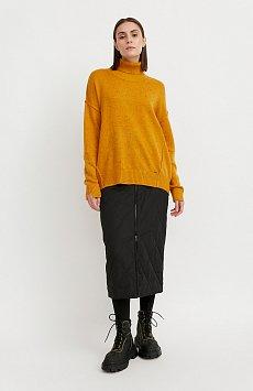Юбка женская с утеплителем с резинкой на поясе W20-12019