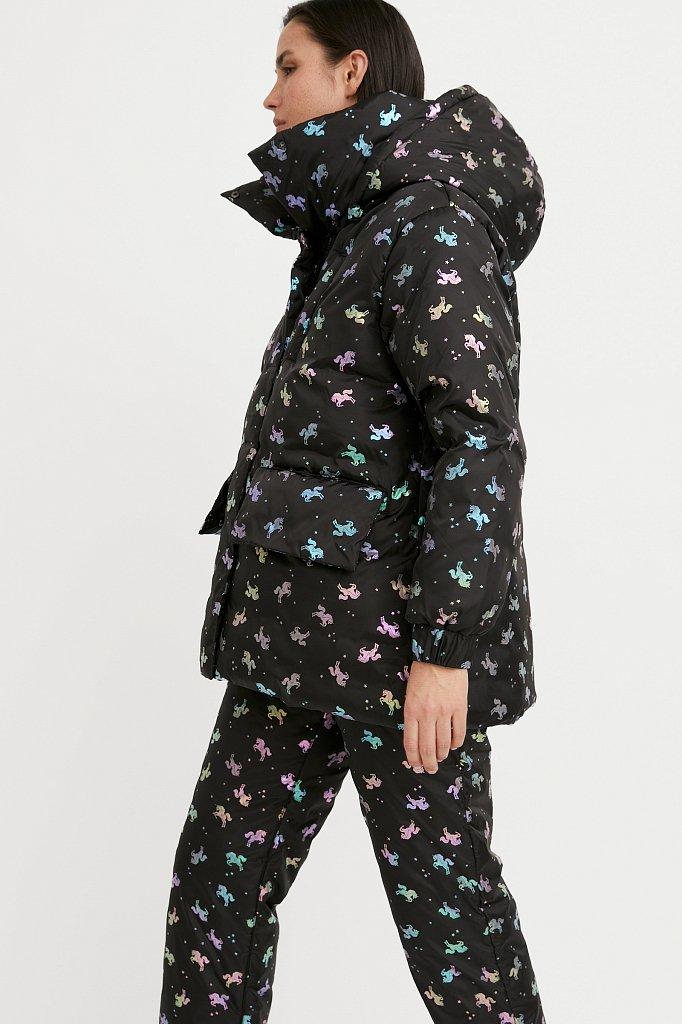 Куртка женская, Модель W20-11042, Фото №1