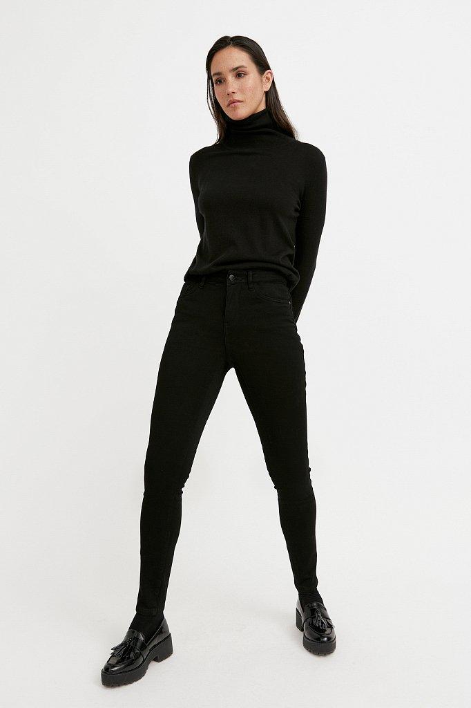 Брюки женские (джинсы), Модель W20-15001, Фото №1