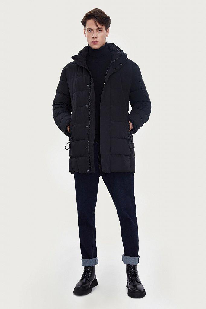 Полупальто мужское, Модель W20-22010, Фото №3