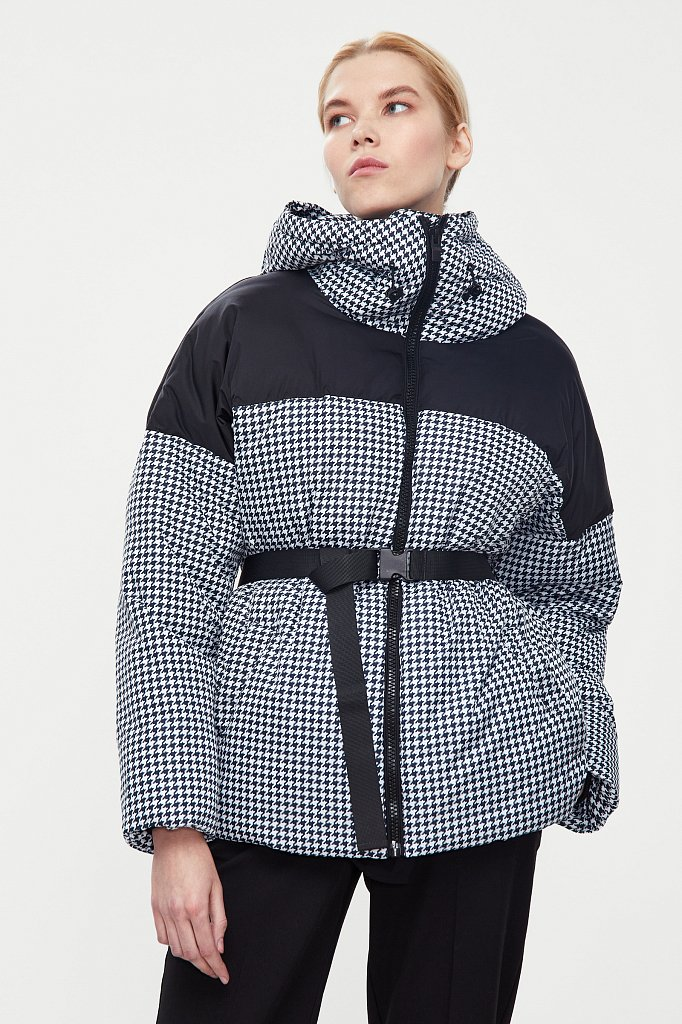 Куртка женская, Модель W20-32029, Фото №1