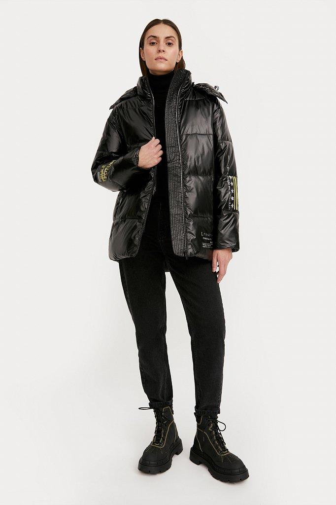 Куртка женская, Модель W20-32035, Фото №1