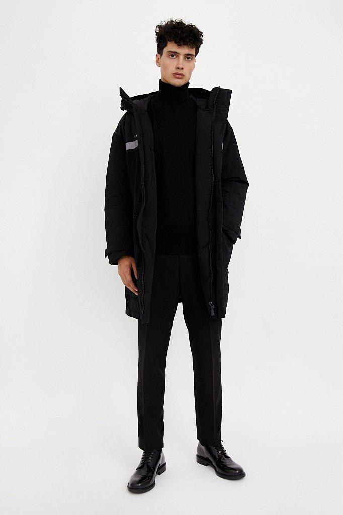 Пальто мужское, Модель W20-61002, Фото №3