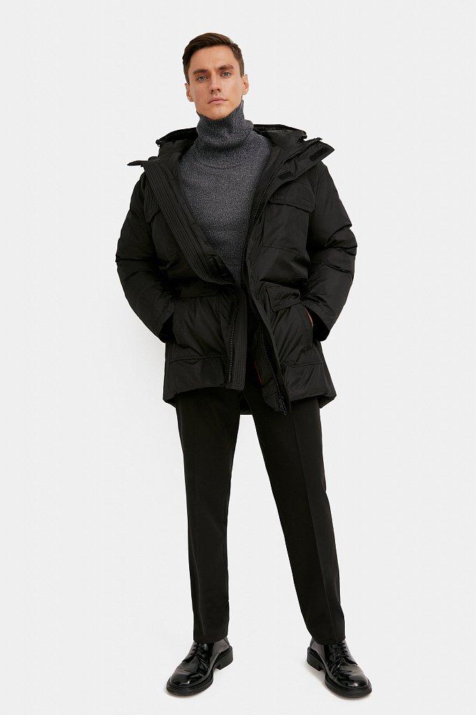 Полупальто мужское, Модель W20-61003F, Фото №2