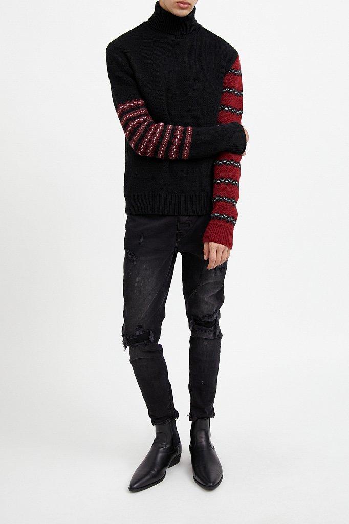 Джемпер мужской, Модель W20-61101, Фото №7