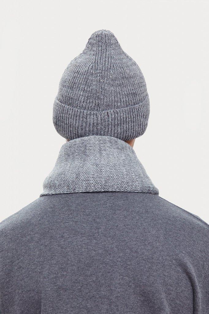 Шапка мужская, Модель W20-21136, Фото №4