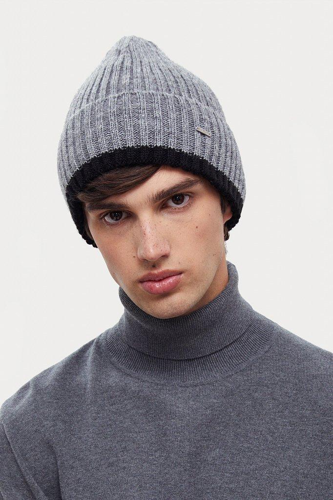 Шапка мужская, Модель W20-21143, Фото №2