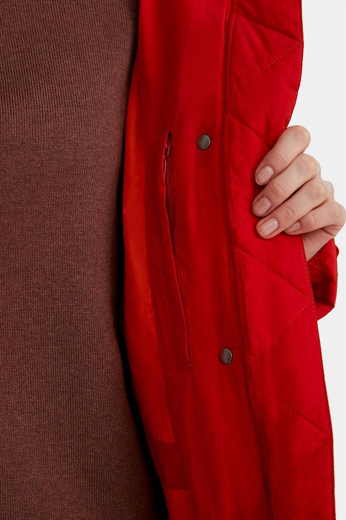 Полупальто женское, Модель W20-12012, Фото №5