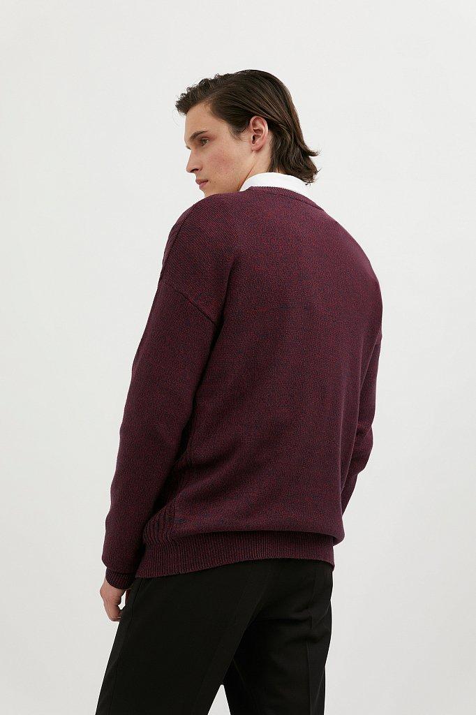 Джемпер мужской, Модель W20-22114, Фото №4