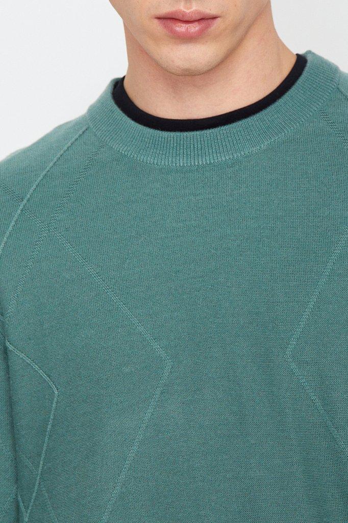 Джемпер мужской, Модель W20-21103, Фото №6