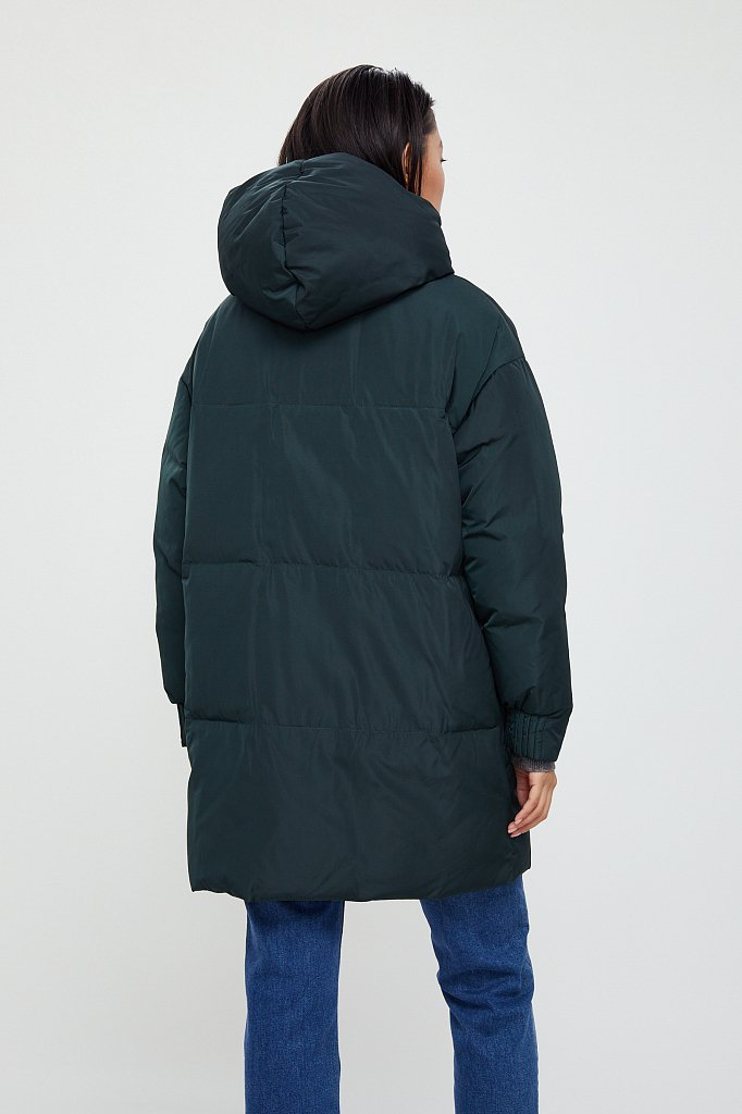 Полупальто женское, Модель W20-12005, Фото №6