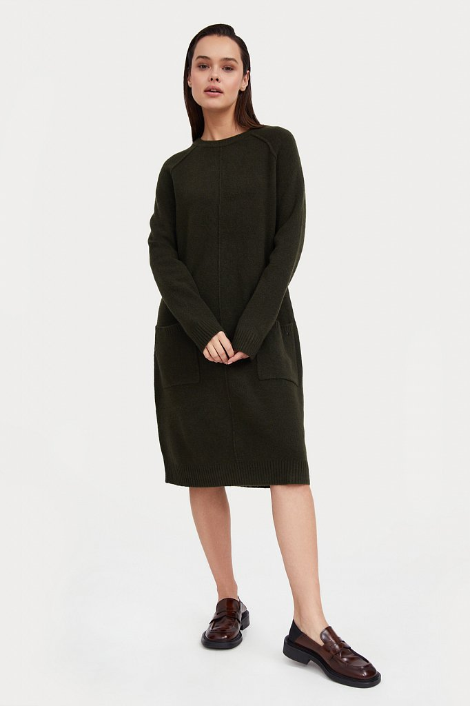 Платье женское, Модель W20-12112, Фото №3