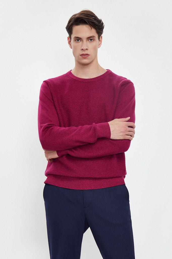 Джемпер мужской, Модель W20-21117, Фото №2