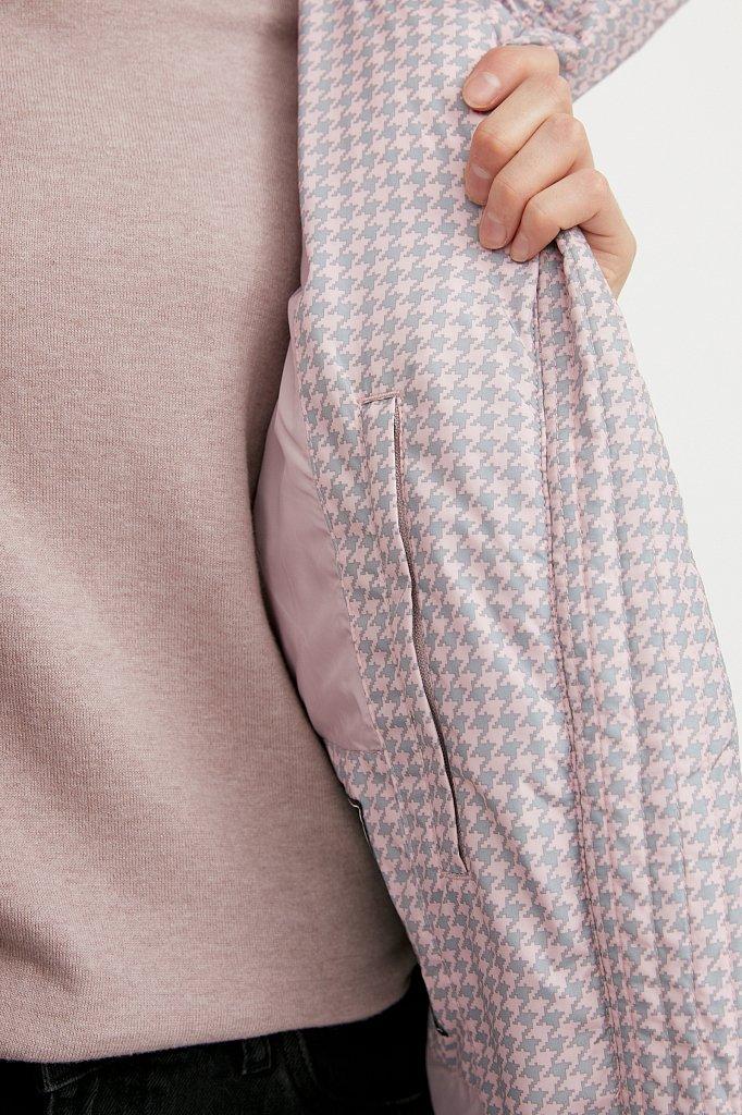 Куртка женская, Модель W20-32029, Фото №4