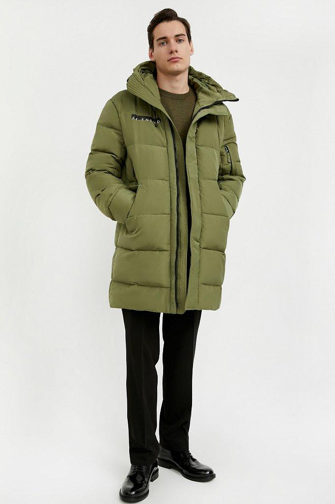 Пальто мужское, Модель W20-61001, Фото №2