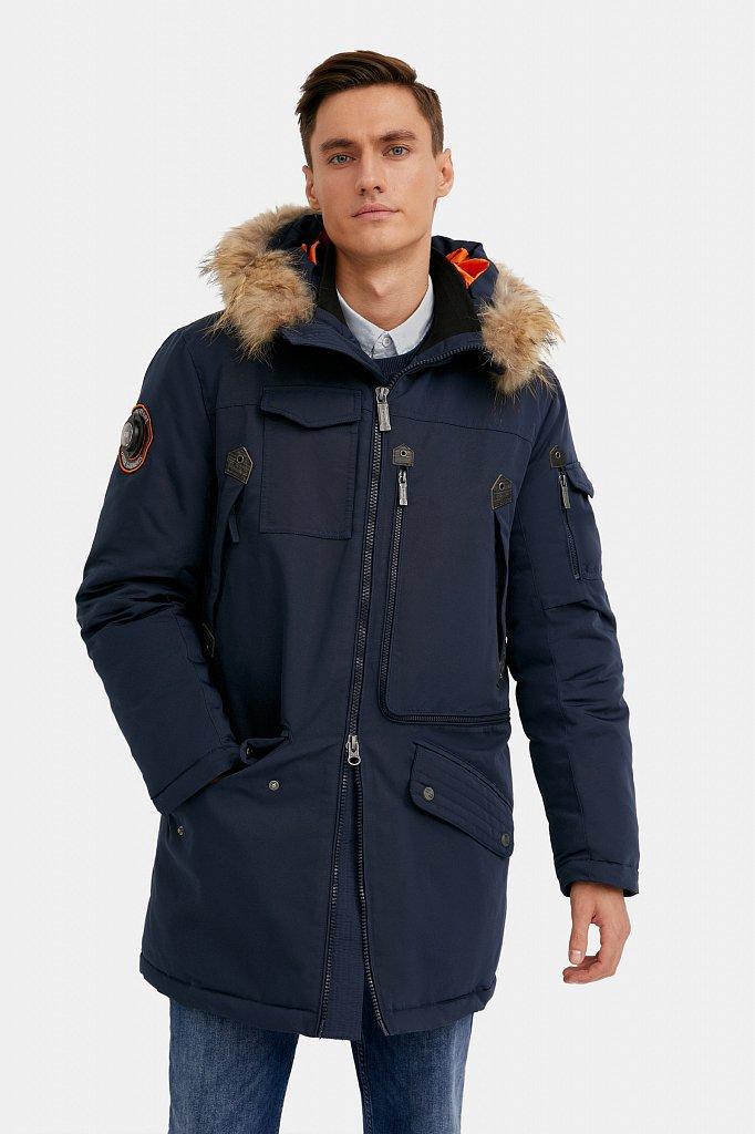 Пальто мужское, Модель WA20-22013, Фото №1
