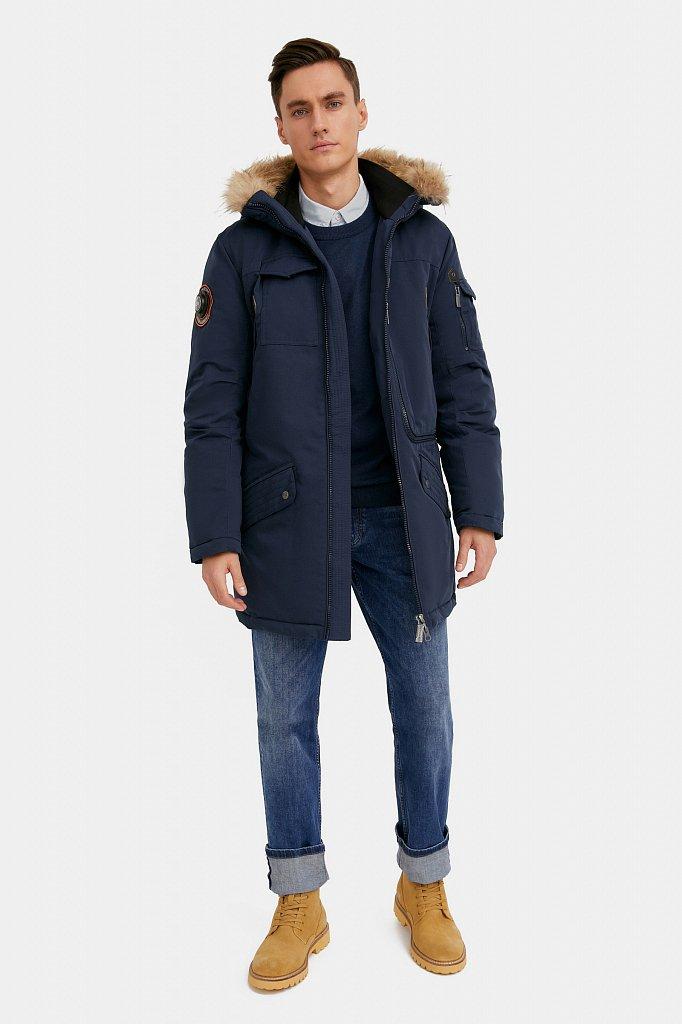 Пальто мужское, Модель WA20-22013, Фото №2
