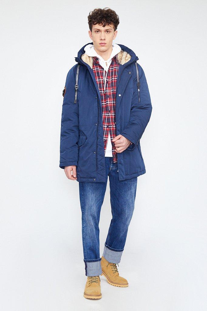 Полупальто мужское, Модель WA20-22015, Фото №1