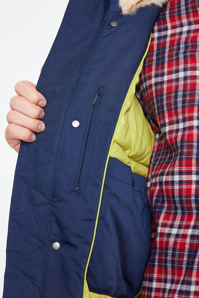 Полупальто мужское, Модель WA20-22015, Фото №4