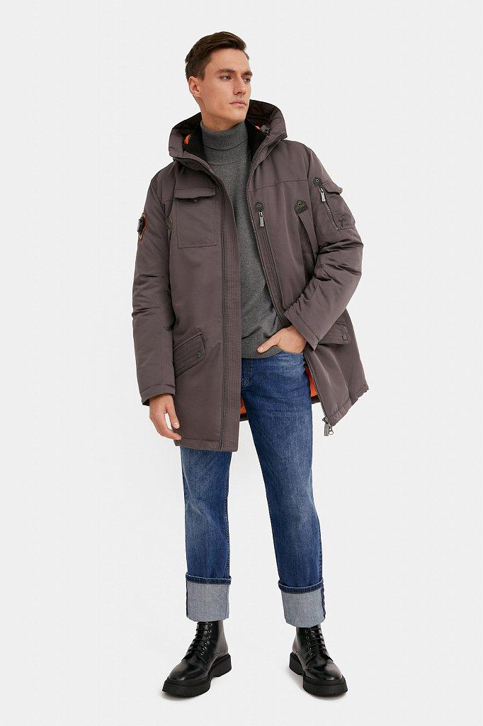 Пальто мужское, Модель WA20-22013F, Фото №1