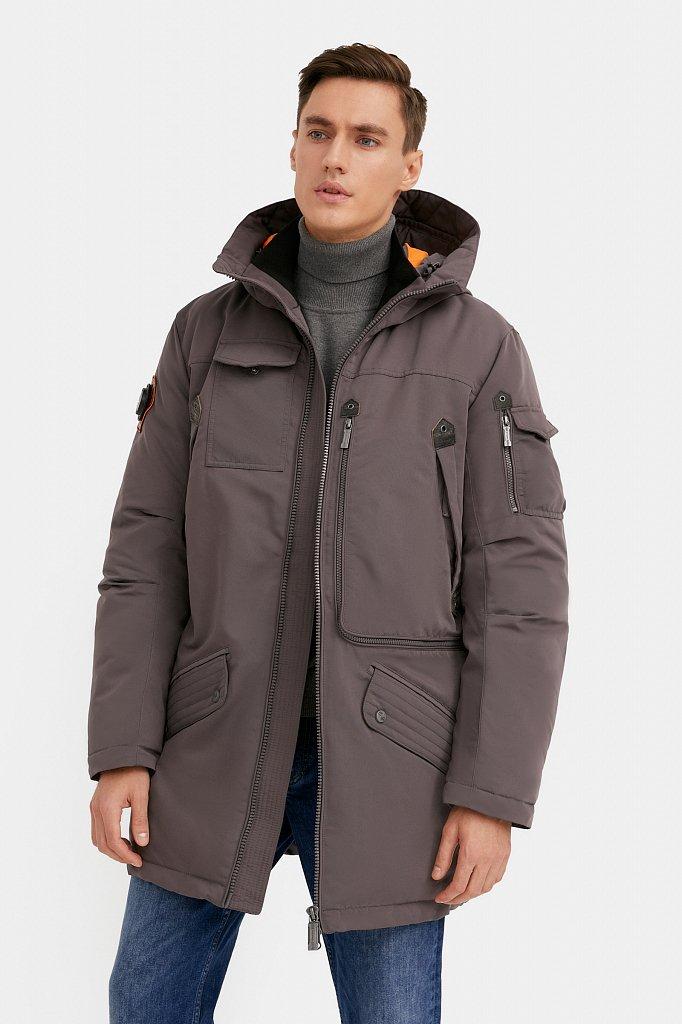 Пальто мужское, Модель WA20-22013F, Фото №2