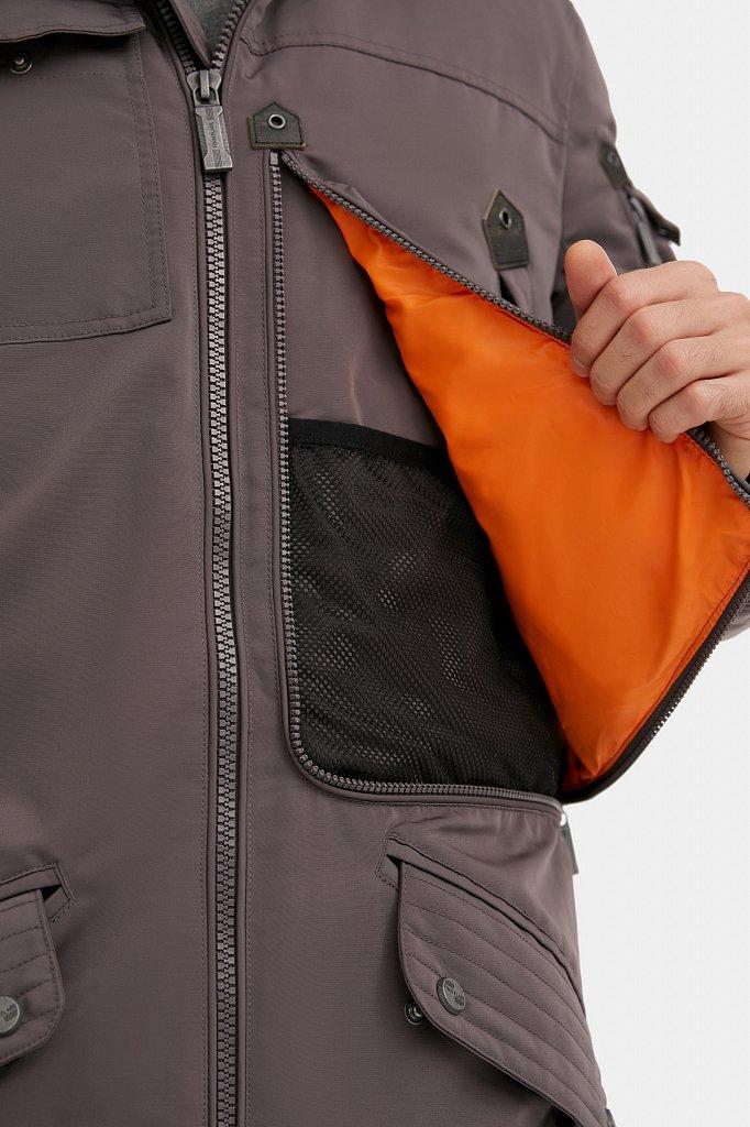 Пальто мужское, Модель WA20-22013F, Фото №3