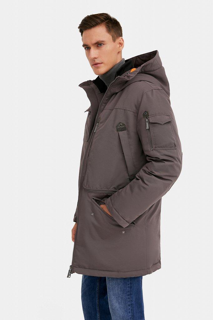Пальто мужское, Модель WA20-22013F, Фото №4
