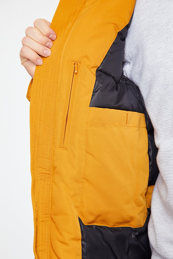 Пальто мужское, Модель WA20-22013, Фото №4