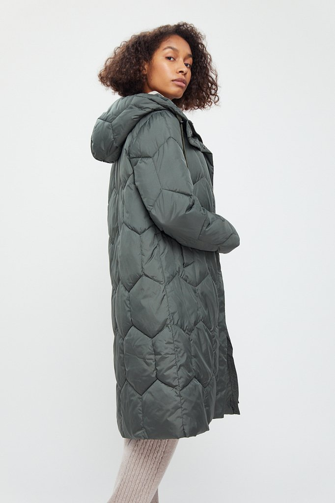 Пальто женское, Модель WA20-12015, Фото №3