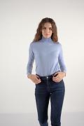 Брюки женские (джинсы), Модель W19-15001, Фото №7